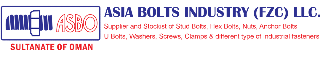 Asia Bolts Industry FZC LLC | Nuts and Bolts | Anchor Bolt